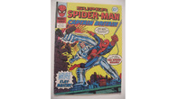 SUPER SPIDER MAN  AND CAPTAIN BRITAIN No 243 ENGLISH Comic Book