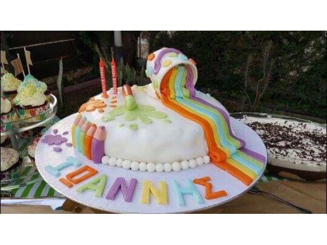 Σπιτικές Τούρτες Γενεθλίων - Homemade Birthday cakes made with love! - 2/3