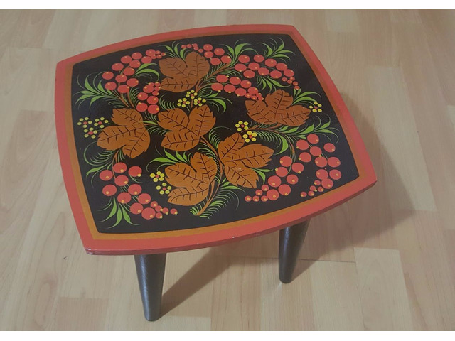 Khokhloma (hohloma) Stool for Child - 1/1