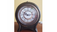 SOLD! Beautiful antique clock cabinet