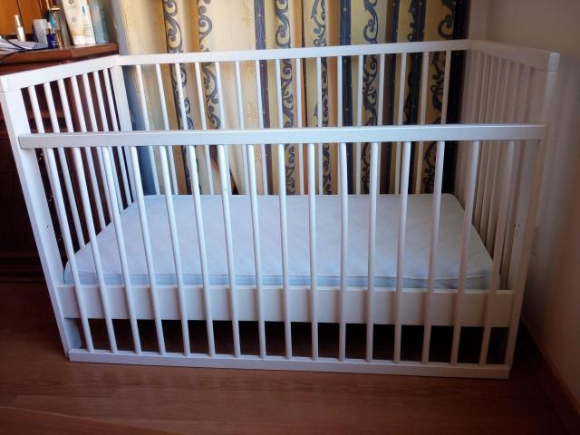 Baby & Toddler bed / cot in very good condition - 3/5