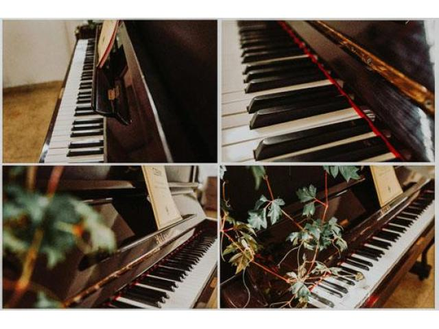 Used Pianos for Decoration - 7/8