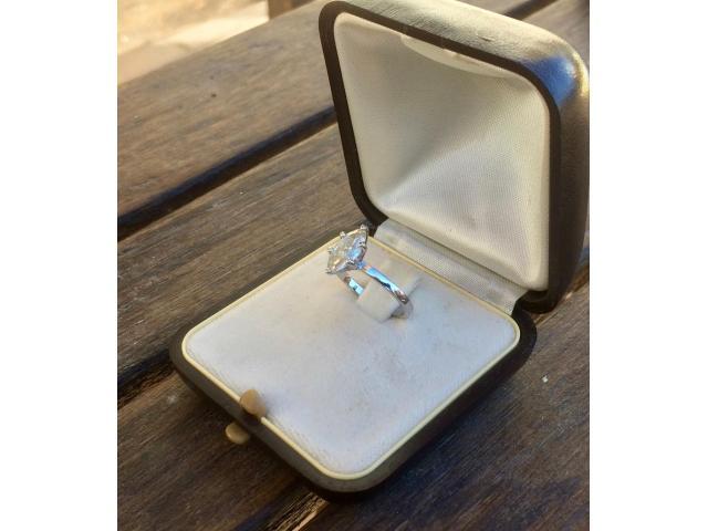 14ct Diamond Ring 1.05ct - 1/9