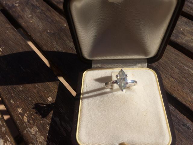 14ct Diamond Ring 1.05ct - 3/9