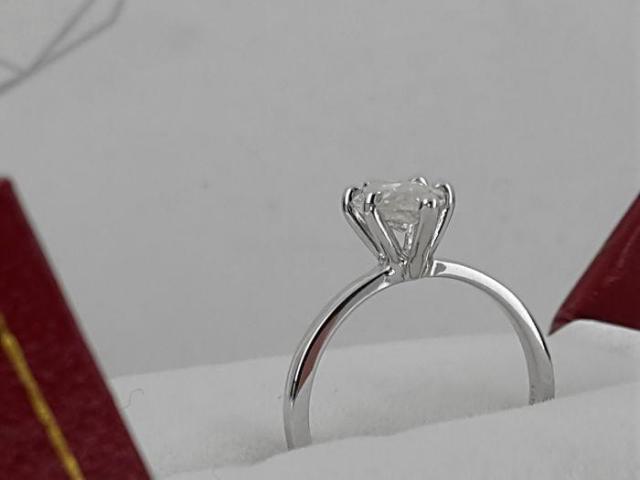14ct Diamond Ring 1.05ct - 8/9