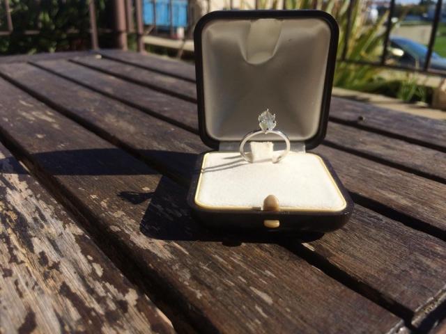 14ct Diamond Ring 1.05ct H/VS2 - 15/16