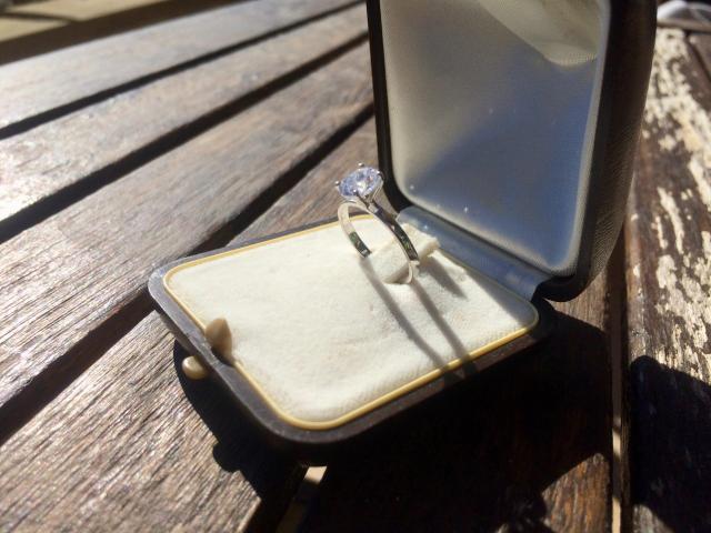 Large 1.16 carat, d/vs2 diamond ring with full original certificate - 3/9