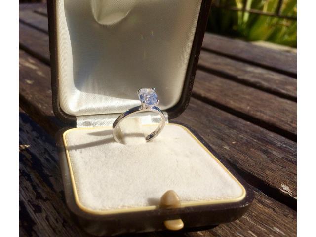 Large 1.16 carat, d/vs2 diamond ring with full original certificate - 6/9