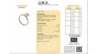 Large 1.16 carat, d/vs2 diamond ring with full original certificate - Image 9/9