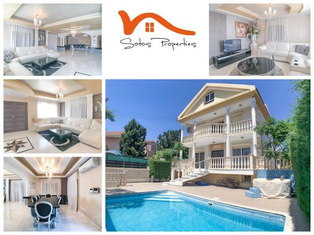 RN SPR 424 / 6 Bedroom villa in Potamos Germasogeias – For rent - 1/10