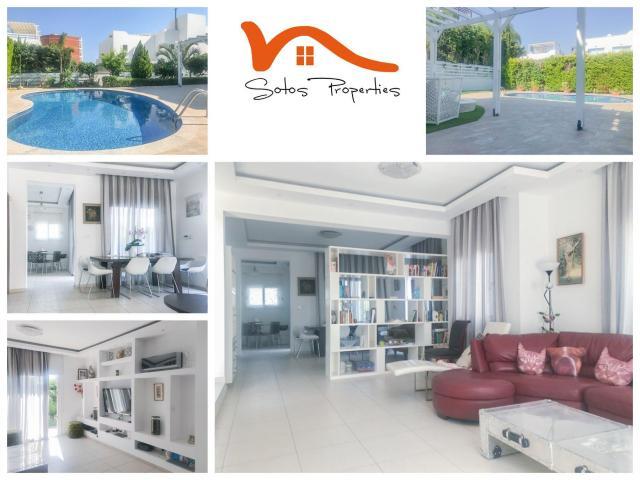 RN SPS 222 / 4 Bedroom villa in Agios Tychonas – For sale - 1/13