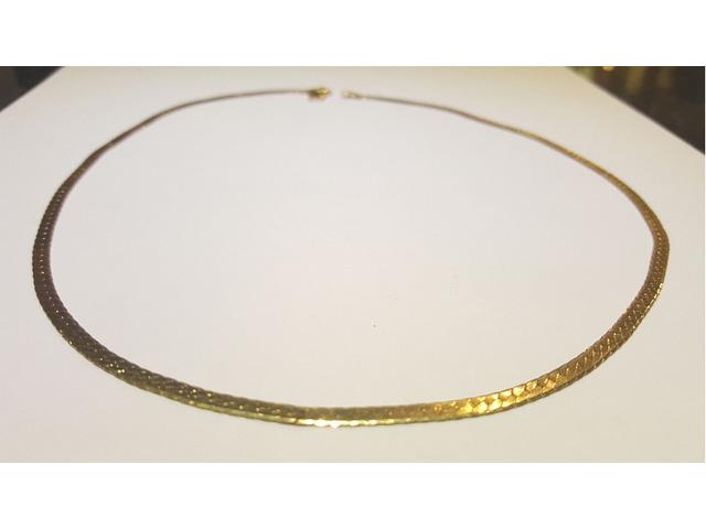 Beautiful Gold chain 18 karat - 3/4