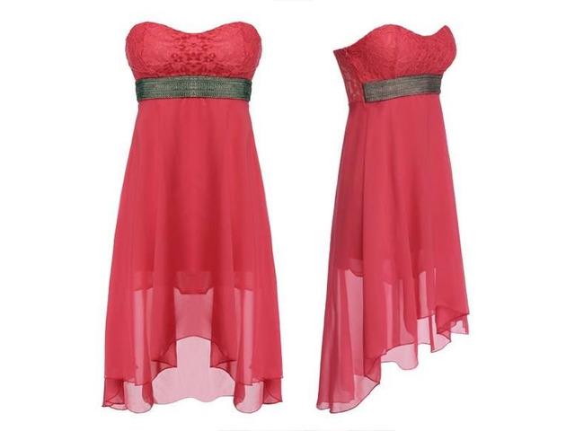 Women Sexy Lace Party Mini Dress - 1/13