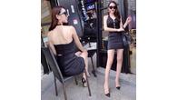 Women Sexy Lace Party Mini Dress - Image 5/13