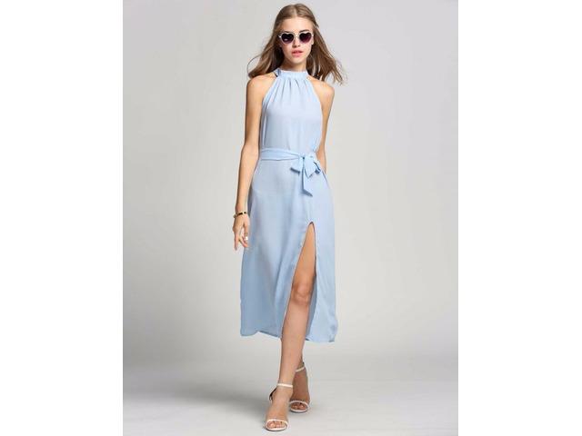 Women Sexy Lace Party Mini Dress - 8/13