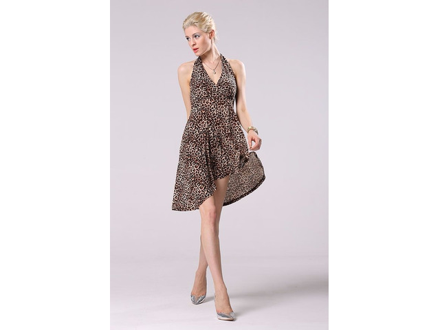 Women Sexy Lace Party Mini Dress - 10/13