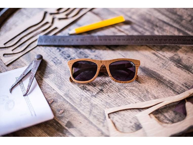 bam-boo wooden sunglasses  - 3/3