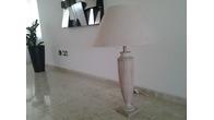 ΑΜΠΑΖΙΟΥΡ ΞΥΛΙΝΟ (ροζ/μπέζ) 90cm