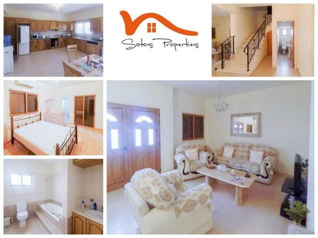 RN SPR 515 / 3 Bedroom house in Livadia, Larnaca – For rent - 1/7
