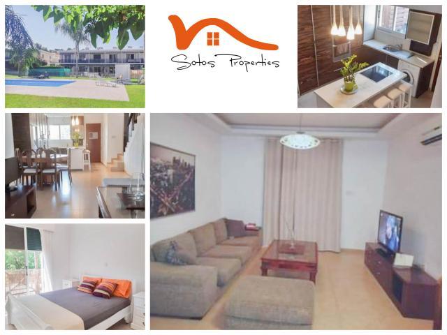 RN SPR 597 / 3 Bedroom maisonette in Moutagiaka tourist area – For rent - 1/9