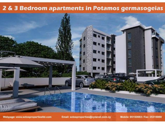 SPS 332 / 2 & 3 Bedroom apartments in Potamos germasogeias – For sale - 1/1