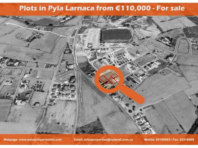 SPS 337 / Plots in Pyla Larnaca from €110,000 – For sale - 1/1