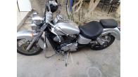 Nice and Shiny Honda Shadow