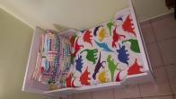 Παιδικό  επεκτεινόμενο κρεβάτι ΙΚΕΑ + στρώμα για επεκτεινόμενο + ταύλες