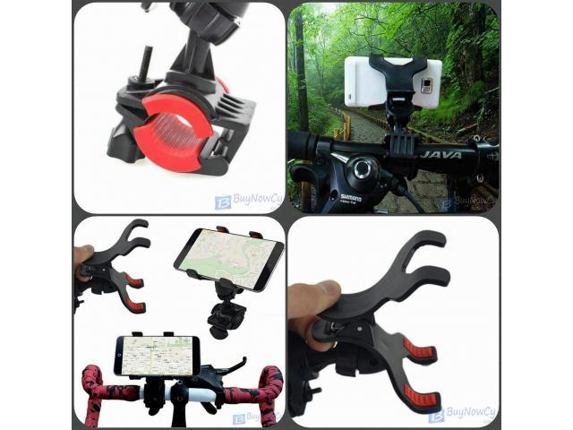 Universal Bicycle Motorcycle Phone Holder  - 1/1